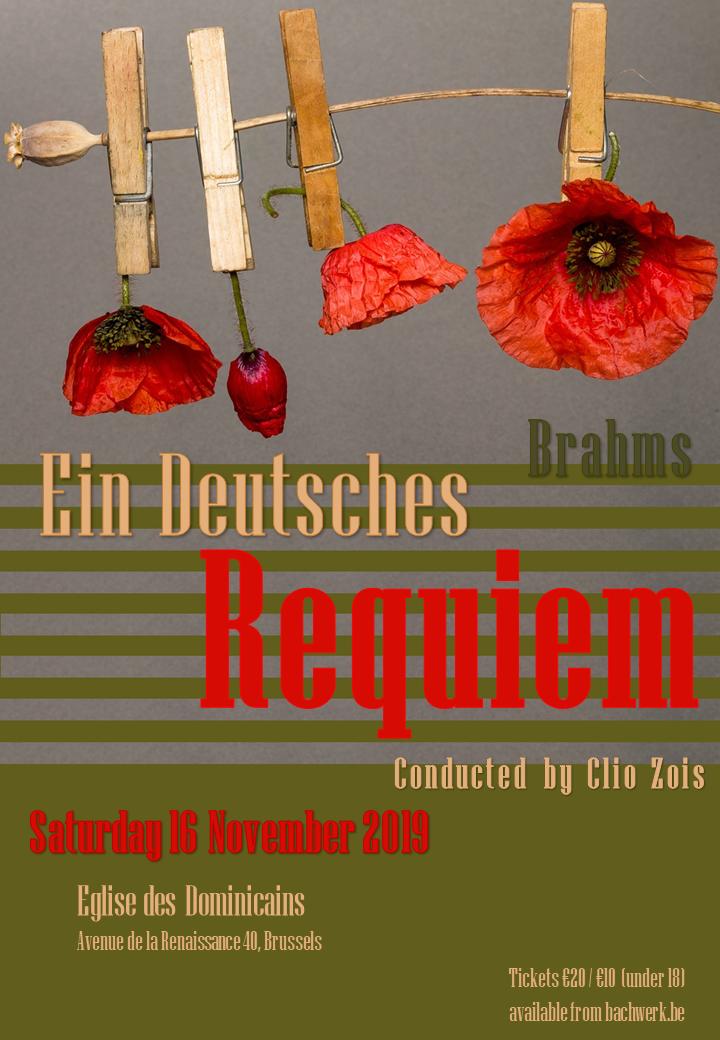Ein deutsches Requiem van Brahms