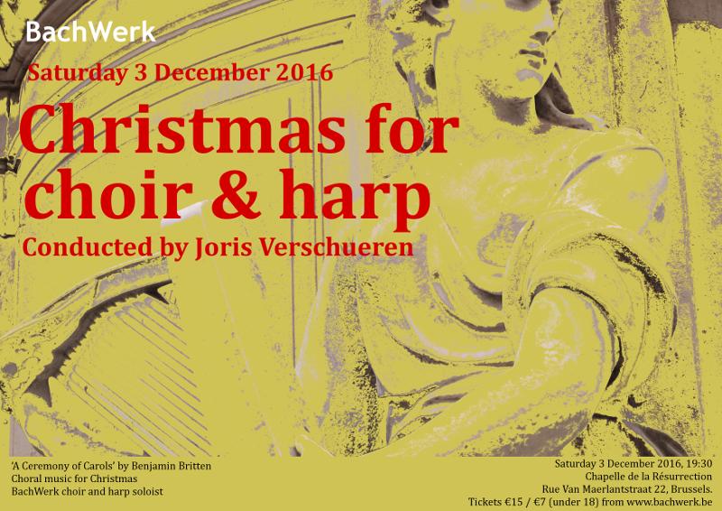 Kerstconcert voor koor en harp